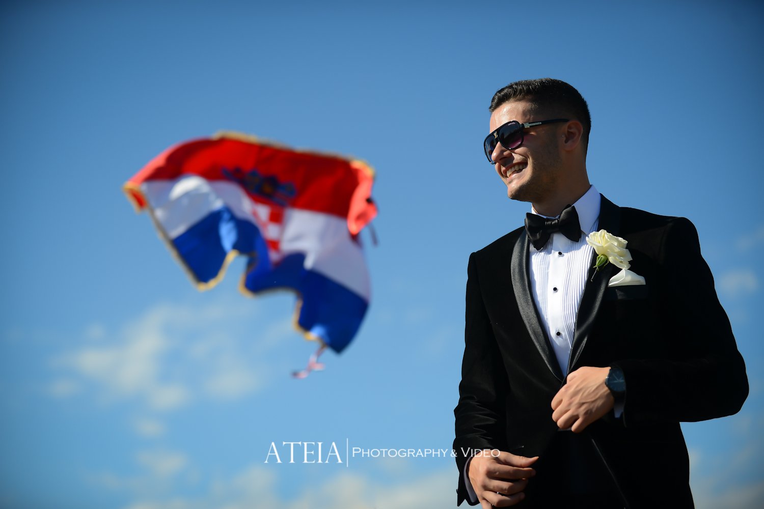 Wedding Photography Docklands - Aerial - ATEIA Photography & Video