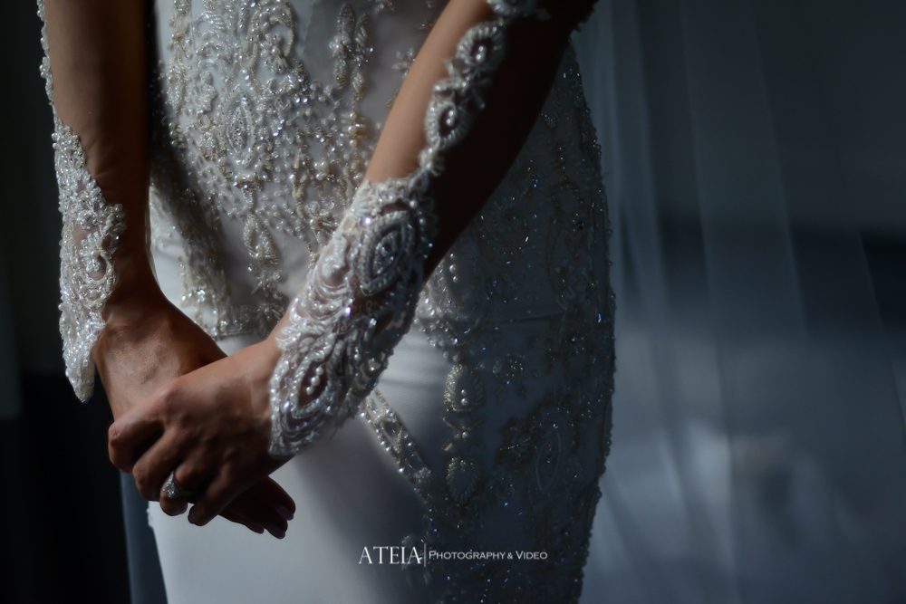 , Bachelor's Emily Simms ties the knot with Pierre Ghougassian at The George Ballroom, captured by ATEIA Photography & Video