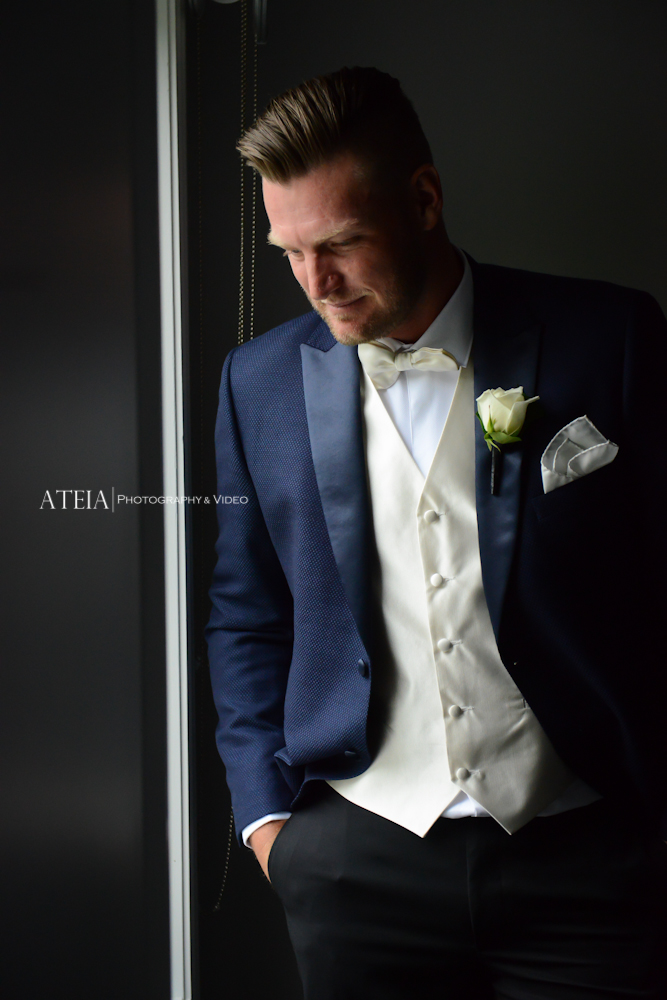 , Australian Open Superstar Sam Groth ties the knot with his gorgeous fiancé Brittany Boys at Carousel Albert Park, captured by ATEIA Photography & Video