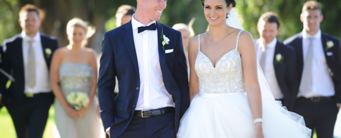 cf4cd31e0787 Tom Lynch ties the knot with his gorgeous fiance Courtney at Carousel,  Albert Park