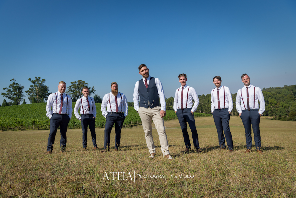 , Wedding Photography at Yarra Ranges Estate by ATEIA Photography & Video