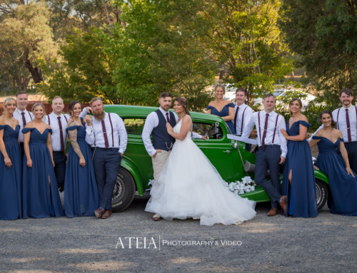 Wedding Photography at Yarra Ranges Estate by ATEIA Photography & Video