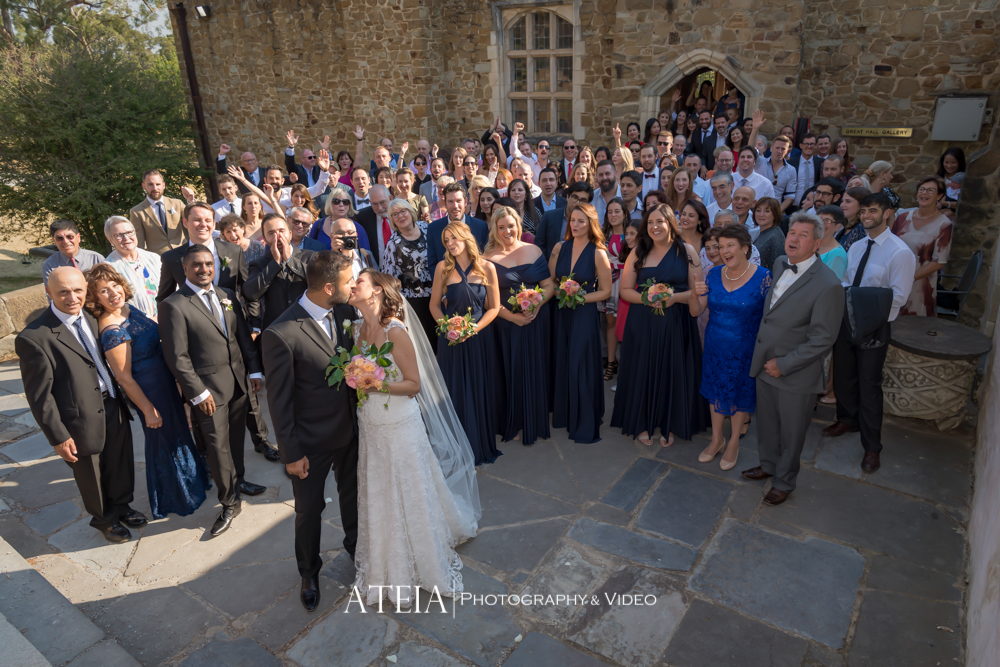 , Montsalvat Eltham Wedding Photography by ATEIA Photography & Video