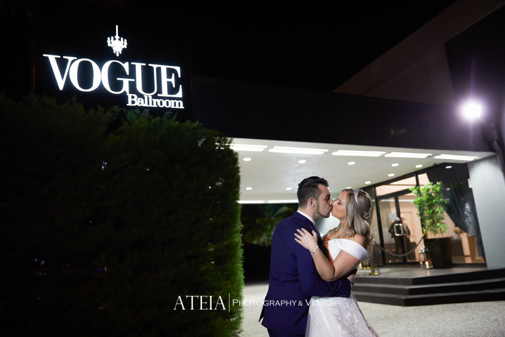 , Vogue Ballroom Wedding Photography by ATEIA Photography & Video
