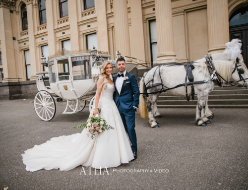 Vogue Ballroom Wedding Photography in Melbourne by ATEIA