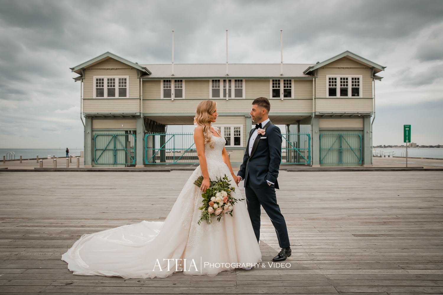 , Vogue Ballroom Wedding Photography in Melbourne by ATEIA