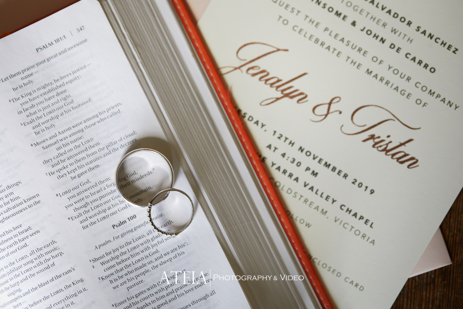 , Stones of the Yarra Valley Wedding Photography by ATEIA Photography