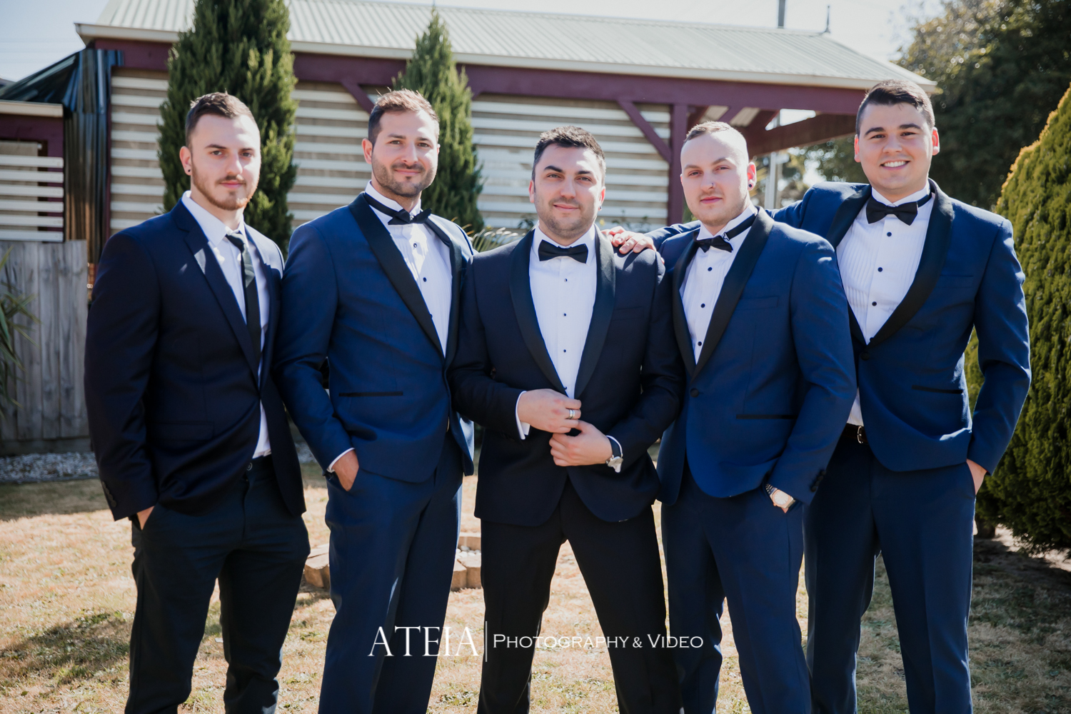 , Vogue Ballroom Wedding Photography Melbourne by ATEIA Photography & Video