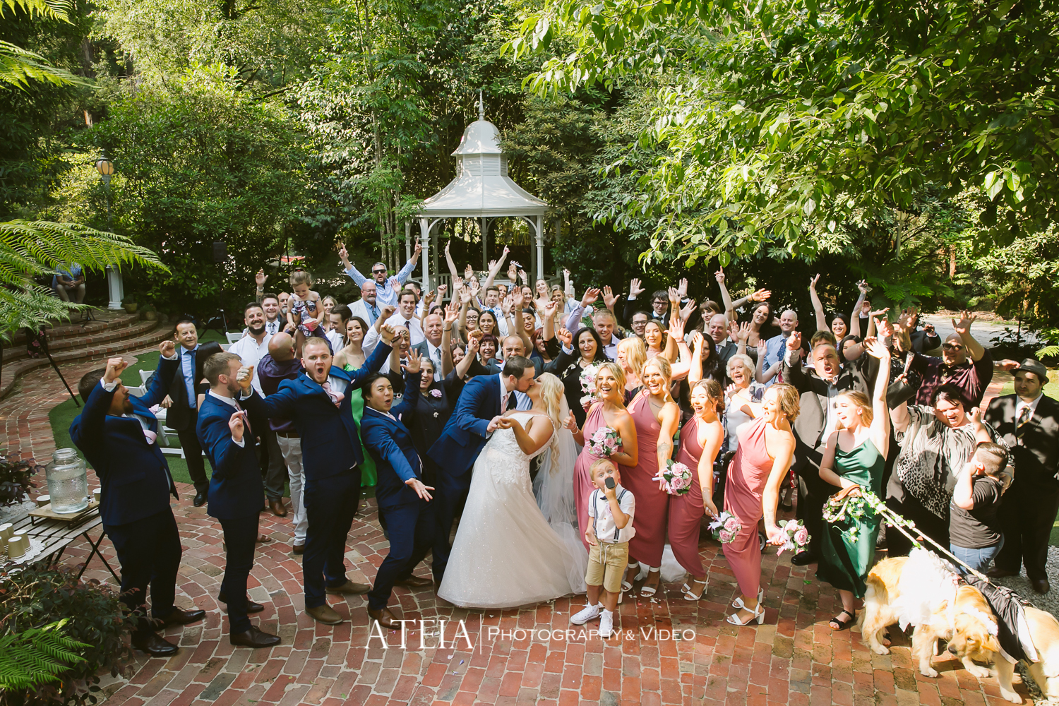 , Lyrebird Falls Wedding Photography by ATEIA Photography & Video