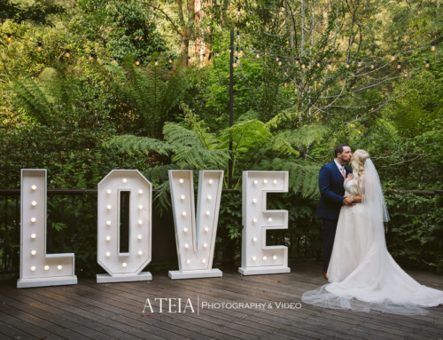 Lyrebird Falls Wedding Photography by ATEIA Photography & Video