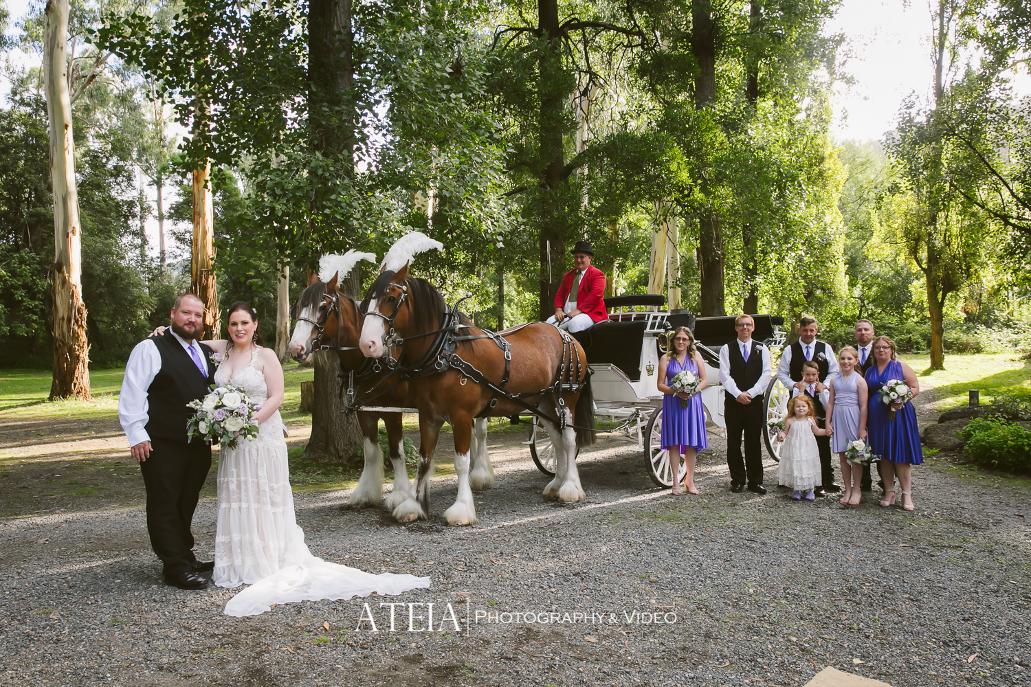 , Chateau Wyuna Wedding Photography Melbourne by ATEIA Photography & Video