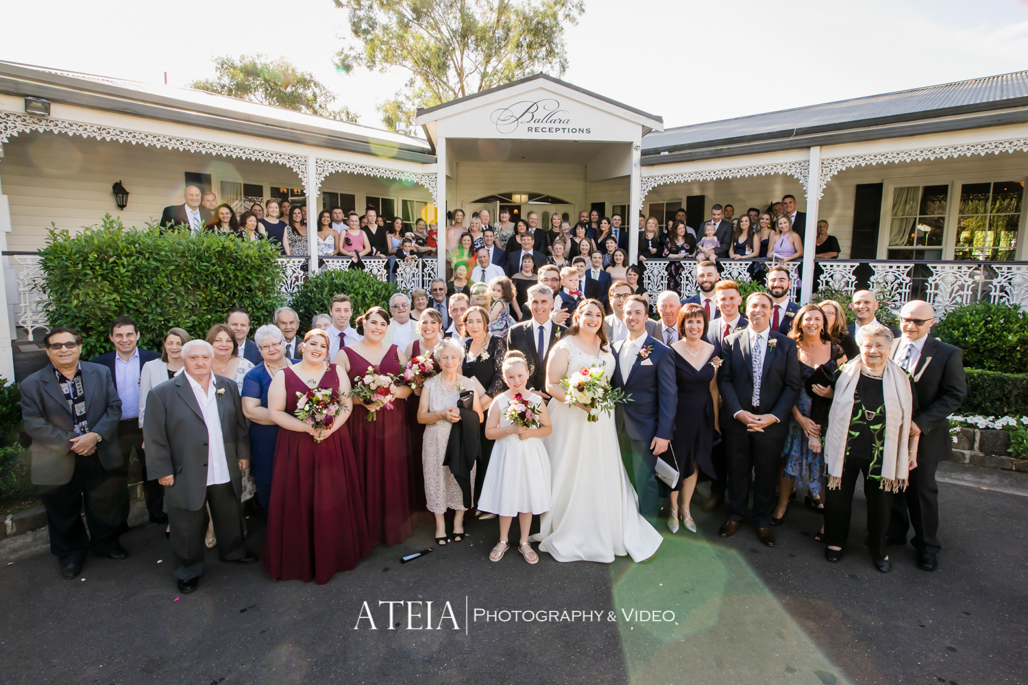 , Ballara Receptions Wedding Photography Melbourne by ATEIA Photography & Video