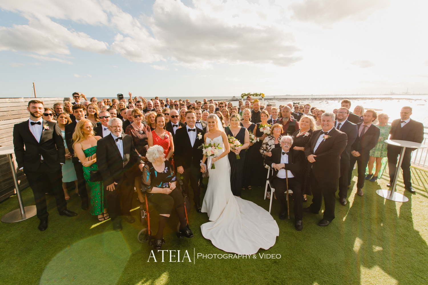 , Royal Melbourne Yacht Squadron Wedding Photography by ATEIA Photography & Video