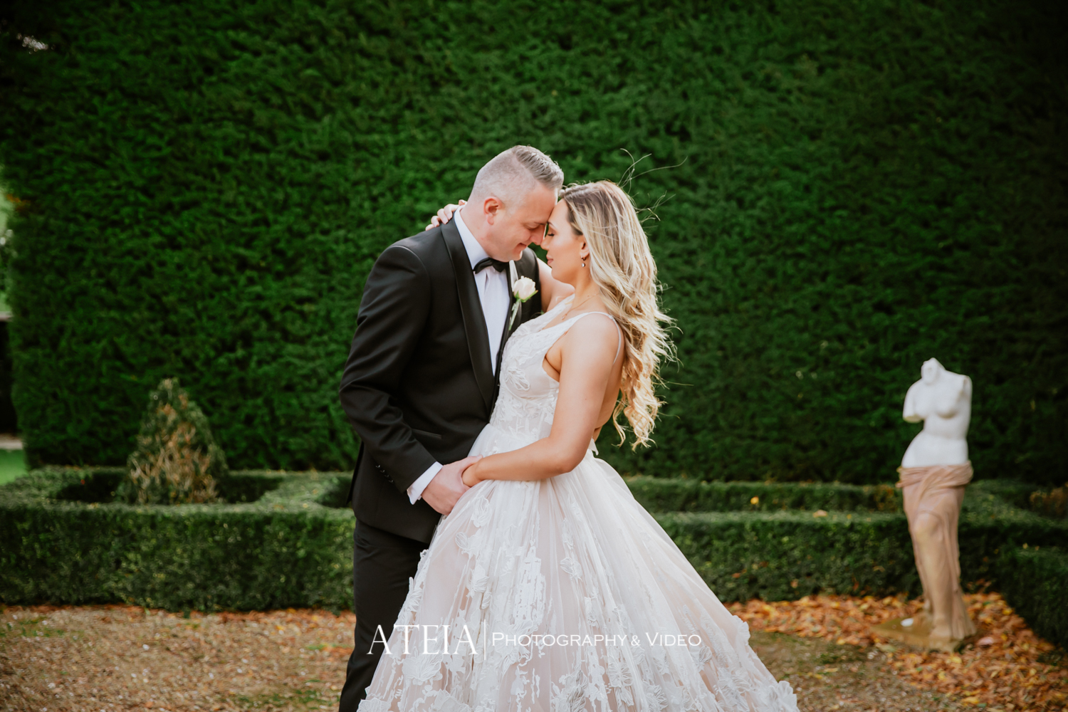 , A COVID19 Wedding in Victoria's Most Elegant Venue